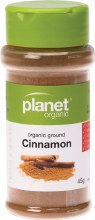 PLANET ORGANIC - Spices Cinnamon 45g