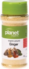 PLANET ORGANIC - Spices Ginger 45g