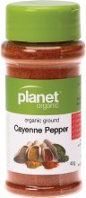 PLANET ORGANIC - Spices Cayenne Pepper 40g