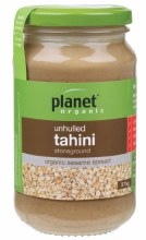 PLANET ORGANIC -Tahini Unhulled 375g