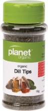 PLANET ORGANIC - Herbs Dill Tips 18g