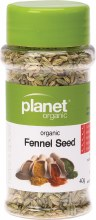 PLANET ORGANIC - Herbs Fennel Seed 40g