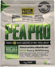 PROTEIN SUPPLIES AUST. -PeaPro (Raw Pea Protein) Pure 1kg