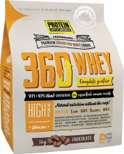 PROTEIN SUPPLIES AUST. -360Whey (WPI+WPC Combo) Chocolate 3kg