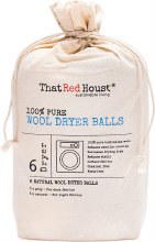 THAT RED HOUSE -Wool Dryer Balls 100% Pure