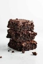 Gluten Free Organic Brownie Slice (12 Slices)
