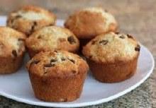 Gluten Free Date & Walnut Organic Muffin Large