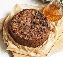 Organic Spelt Mixed Fruit Cake Hi Top Large
