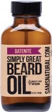 SAM'S NATURAL -Beard OilDatenite