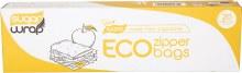 Eco Zipper BagsMade from Sugarcane - Large 20