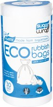 Eco Rubbish BagsMade from Sugarcane - Large 35L 30