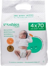 TOOSHIES BY TOM -Pure Baby WipesValue Pack