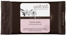 WOTNOT -Facial Wipes Dry + Sensitive Skin 5