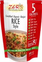 ZERO SLIM & HEALTHY - Certified Organic Konjac Rice Style