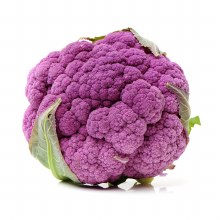 Cauliflower Purple/White Each