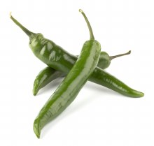 Chillies Long Green 250gm