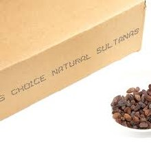 Dried Sultanas 12kg Biodynamic