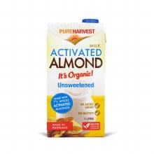 Pure Harvest Organic  Unsweetened Almond Milk
