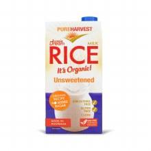 Pure Harvest Organic  Aussie Dream Rice Milk Enriched 1l