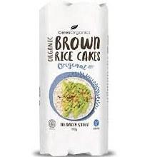 Brown Rice Cakes - Sea Salt 110g