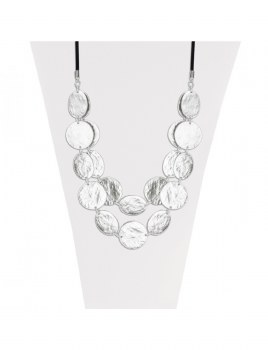 Caracol Long Necklace 1293-SLV