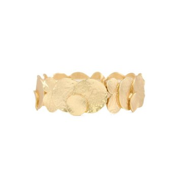 Caracol Disc Bracelet 3043-GLD