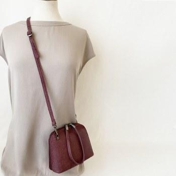 Caracol Crossbody Bag 7065-BOR-L