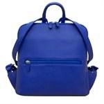 ILI Mini Leather Backpack Cobalt