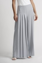 Joseph Ribkoff 201117 Grey Frost Wide Pleat Pant 6 Grey