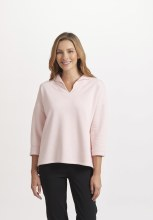 Habitat 39031 French Terry Easy Pullover L Petal
