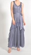 Komarov Long Side/Tier Dress