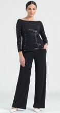 Clara Sunwoo T77S Shimmer Sequin Top  XS Black