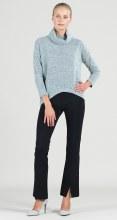 Clara Sunwoo Cowl Neck Sweater T92W4 XS Oatmeal