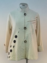 Cupcake COL5-6001 Neutral Dots Cotton Jacket S Neutral
