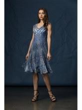 Komarov Cap Sleeve Dress