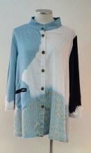 Cupcake International SP19-1003 Long Button Tunic M Blue