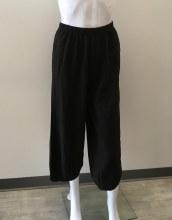 Cut loose Cropped Pant w/Darts 5022088 XS Black