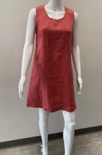 Cut loose Linen A-line Shift Dress 4400369 XS Heart