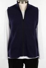 Fat Hat CDTV Ribbed Cotton Vest L Inky Blue