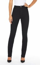FDJ 8473250 Petite Suzanne Slim Leg Jean 2P Black
