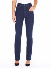 FDJ 8459002 Petite Suzanne Straight Leg Jeant 2 Tint Rinse