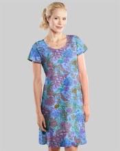 Fresh Produce Oceanscape Sadie Dress ASDSAOC  XS