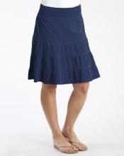 Fresh Produce Jersey Tier Skirt ASKTIER M Moonlight