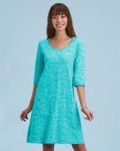 Fresh Produce Waves Dalia Dress ASDDAWV XS Luna