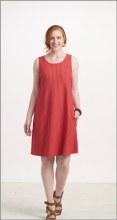 Habitat 57680 Jersey Pocket Dress L Chili