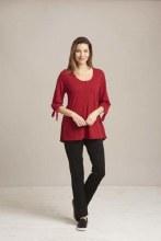 Habitat 27529 Cotton Tie Sleeve Tunic S Tuscan Red
