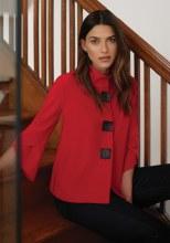Joseph Ribkoff 193198 Jacket 8 Red