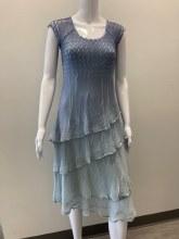 Komarov CAP7414 Cap Sleeve Dress XS BEN