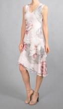 Komarov CAP7429 V-Neck Layer Dress XS ISL