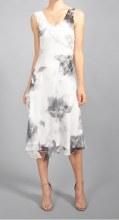 Komarov CTS4422 Chiffon Tier Dress XS SHM